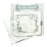 #紀寺商事 スタンプ Today's Clear Stamp  dove TSC-02_3000000199480